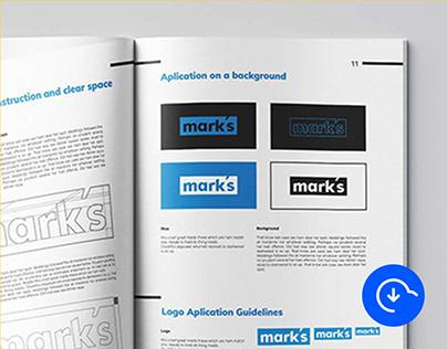 Free Brand Manual Template