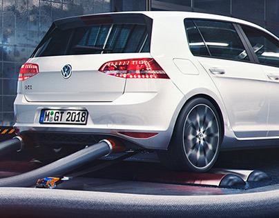 VW Golf GTI Garage (CGI)