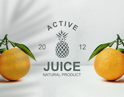 Logo and Brand identity for Active Juice