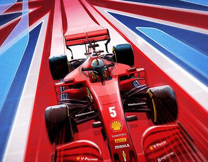 Posters for Scuderia Ferrari