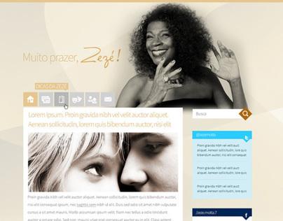 Blog da Zezé Motta