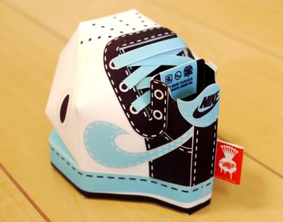 Nike Branding: Paper Toys