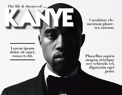 Magazine Layout: The Life & Rhymes