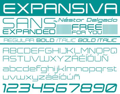EXPANSIVA - SANS EXPANDED FREE FONT