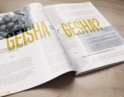 Roast Magazine Article Layouts