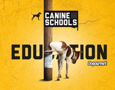 CANINE SCHOOLS DOGOURMET