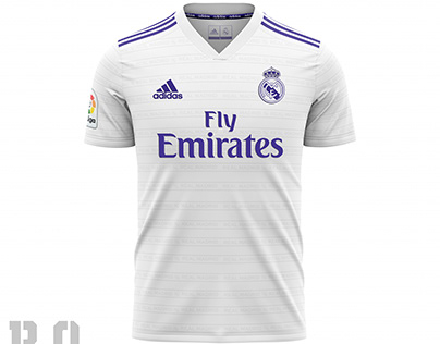 Concept Home Jersey Real Madrid 2020-2021