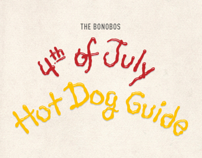 4th of July Hot Dog Guide