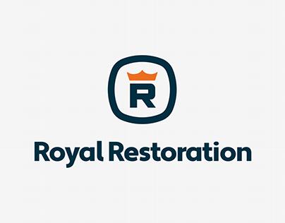 Royal Restoration Logo Design
