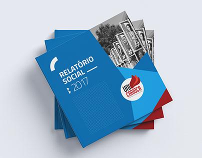 Projeto Editorial | Relatório Social 2017 - UniCarioca