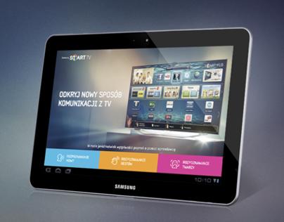 Smart TV tablet App