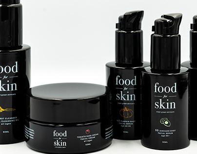 Brand Identity for FoodforSkin