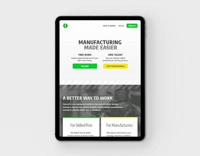 Factory Fix Landing Page
