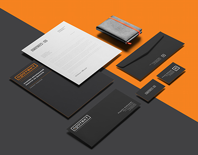 Protect. Logo design and corporate identity