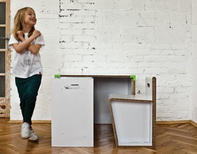 QBIK furniture for kids