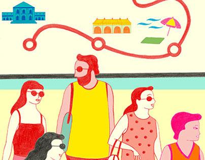 Santillana educational poster