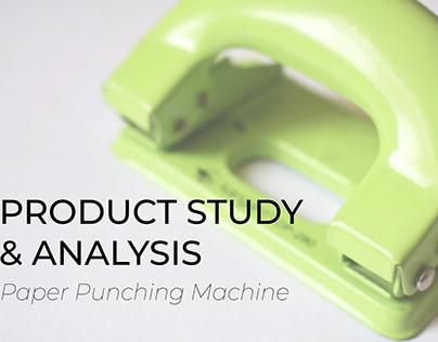 Product Study & Analysis