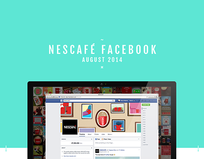 Nescafé - Global Facebook Content August 2014