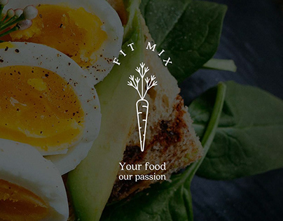 FitMix | Logo & label design