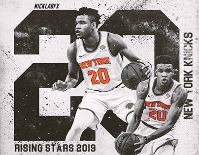 Kevin Knox || NBA Rising Stars Challenge 2019