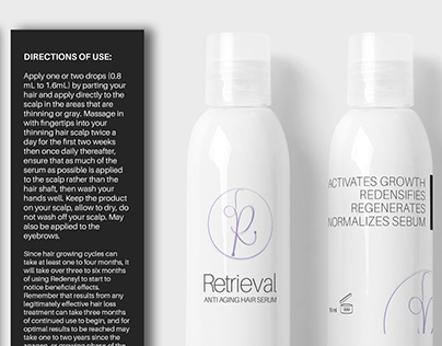 Reversyl & Retrieval Bottle Designs