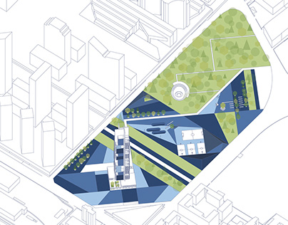 VERTICAL SOCIAL HOUSING / Thesis Project