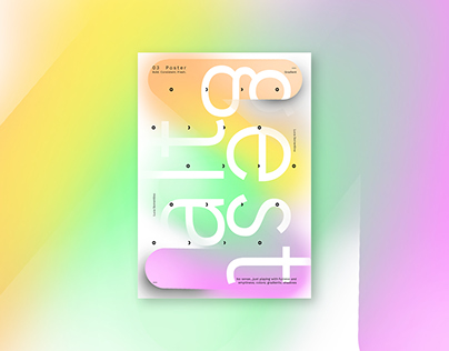 POSTER SERIES #8/10 bold. consistent. fresh.