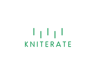 KNITERATE Logotype animation.