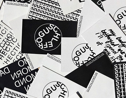 Guschlefrö – Brand identity