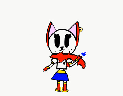 Papyrus Cat (undertale inspired)