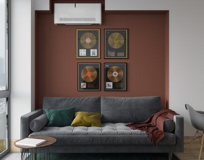 Kitchen living room. Designer @margoshamargo