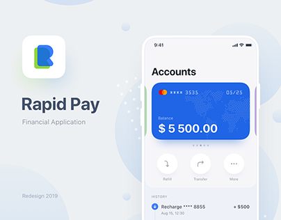 Rapid Pay Finance App