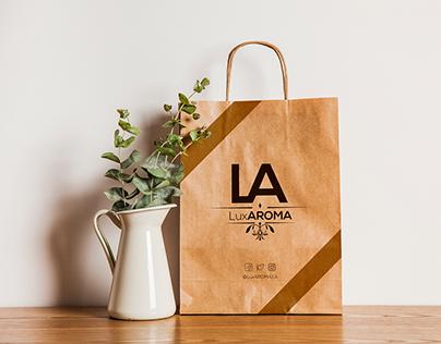 LuxAROMA Perfume LOGO