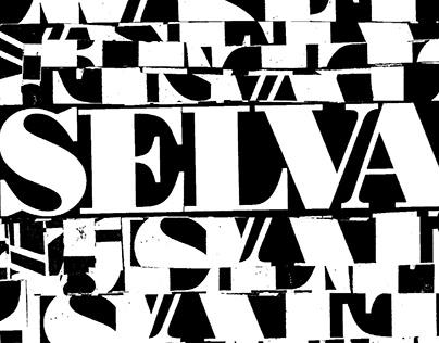 "Brochure Tipografico ""Selva""- Juana Ibarbourou"