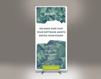 RollUp Banner design