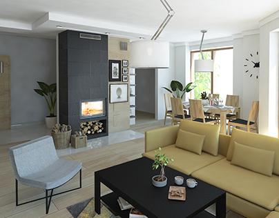 Modern Livingroom / Nowoczesny salon