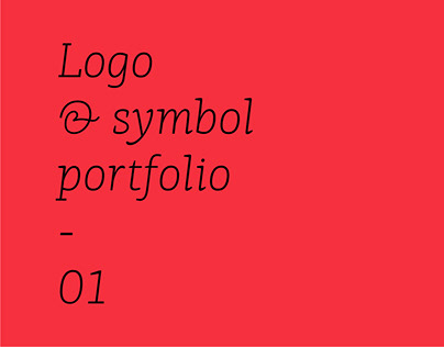 Logo & symbol portfolio - 01