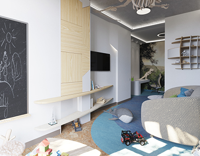 Kids room for two boys