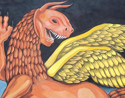 Mural Grifo.