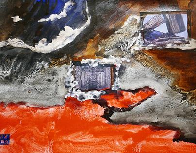 Liberation Auschwitz collage