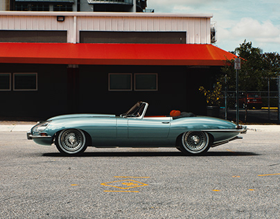 Jaguar E-Type 1964 CGI
