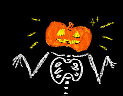 Helloween GIF Illustrations