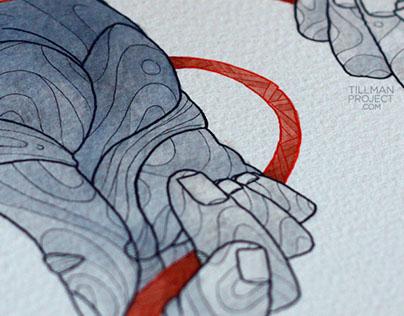 Pen & Watercolor VII