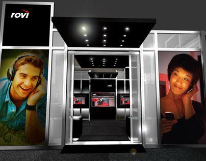ROVI - CES trade show booth