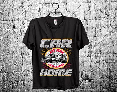 car t-shirt design
