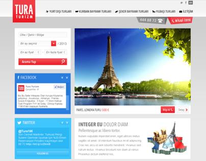 Tura Tourism Web Site