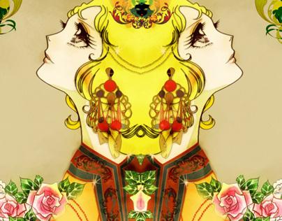 Fashion illustration Manga legends