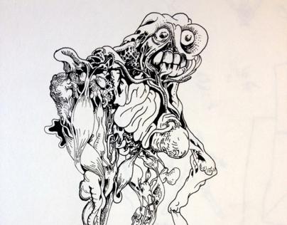 monster and skull studies