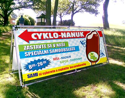 Cyklonanuk - Banner + Logo design