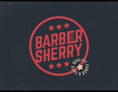 Barber Sherry Branding